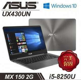 華碩 UX430UN-0101A8250U i5-8250U處理器 14吋FHD 8GB記憶體 512 SSD MX 1