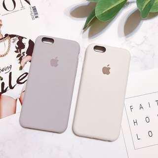 🚚 iPhone 6 全包手機殼-粉紫/米白
