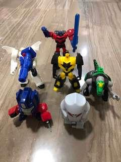 Bundle Sales For Happy Meals Transformers Toys