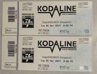 Kodaline tickets 5th march