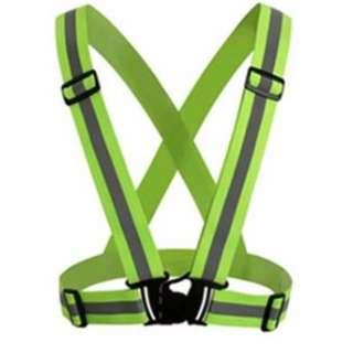 Waistcoat Outdoor Running Cycling Vest Harness Reflective Belt Safety Jacket