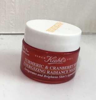 Kiehl's Turmeric & Cranberry seed energizing radiance mask 14g