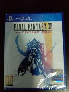PS4 Final Fantasy Xll The Zodiac Age (New)