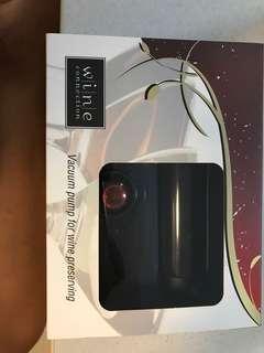 Vacuum pump for wine