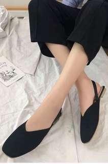 韓版復古包頭涼鞋