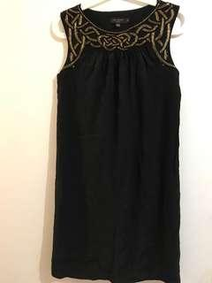 Ted Baker Silk Black Dress