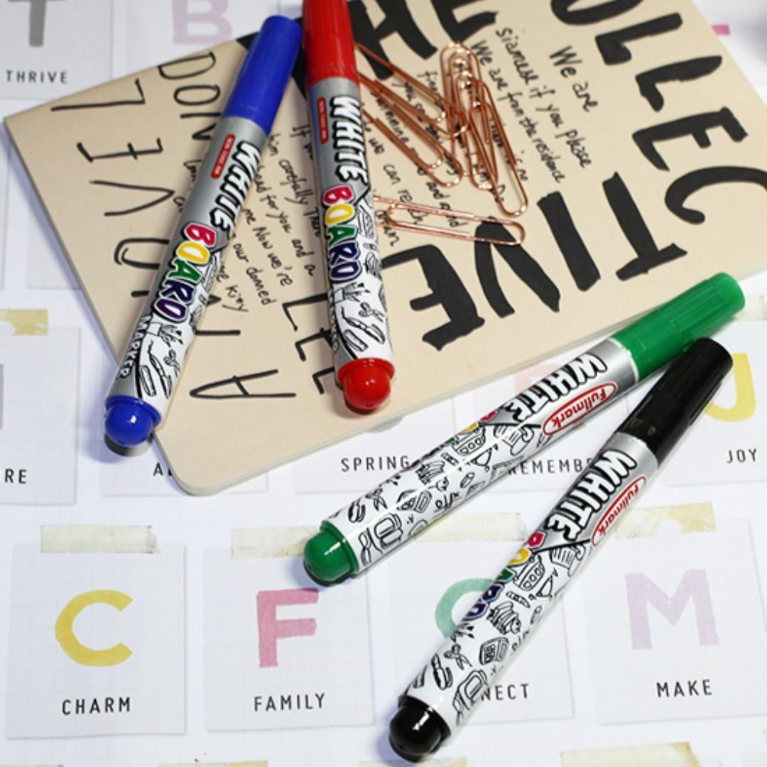40 Pcs Dry Erase Whiteboard Marker (Assorted Color)