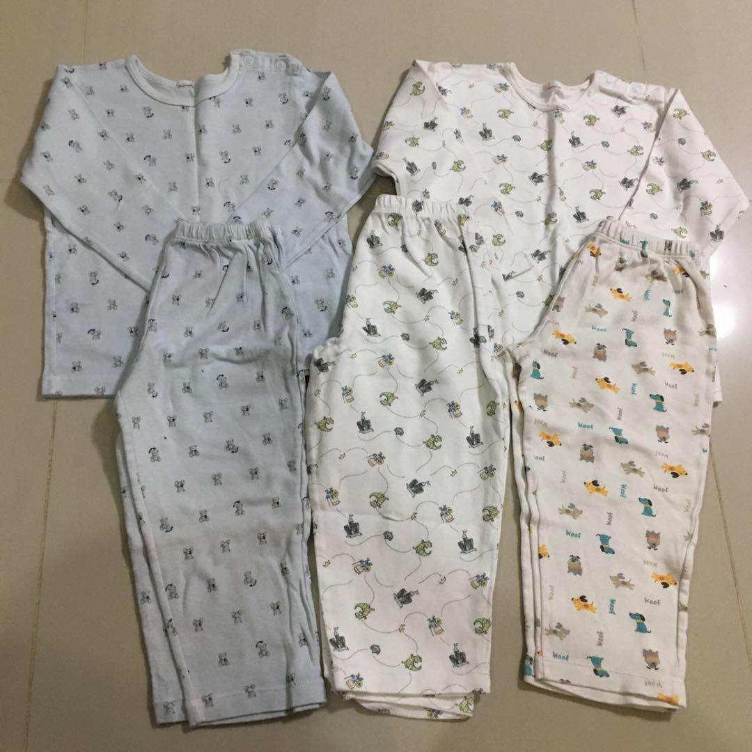 2a77a173ed3840  4 for 2 sets Sprockets pyjamas size 2T