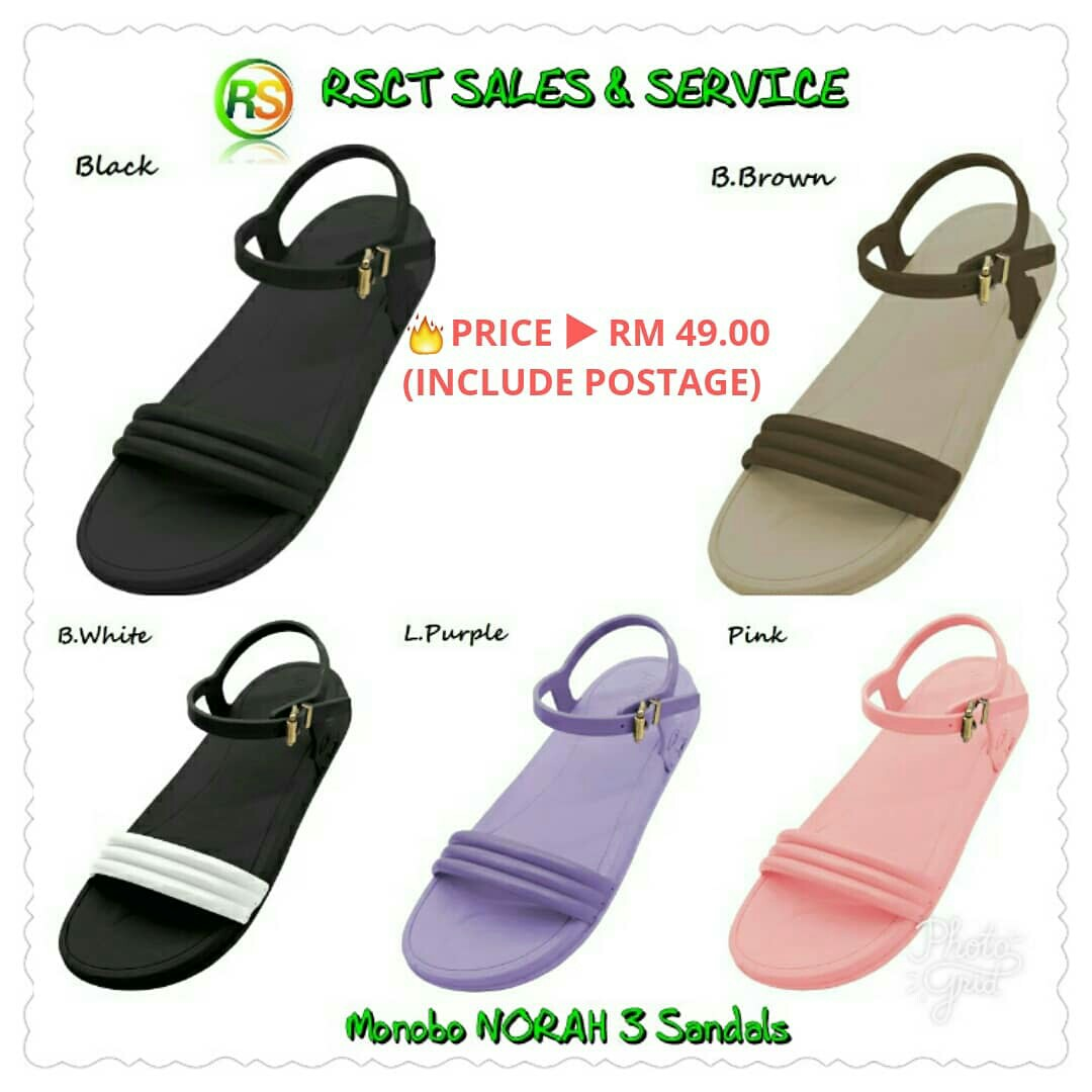 066f9296695f 🔥 READY STOCK 🔥Monobo NORAH 3 Sandals (5 colors available)