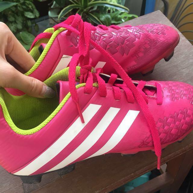 ca45bd7a2410 Adidas FEMALE Predator Absolado LZ TRX FG Pink Soccer Boots
