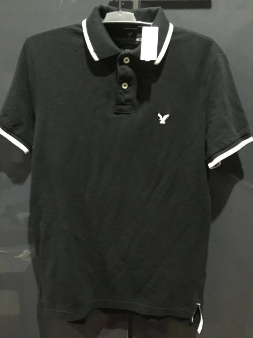 663abca4 AMERICAN EAGLE POLO SHIRT, Men's Fashion, Clothes, Tops on Carousell