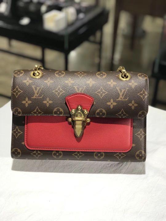 5f788bbc827b Authentic Pre-loved Louis Vuitton Victoire Monogram Canvas Bag ...
