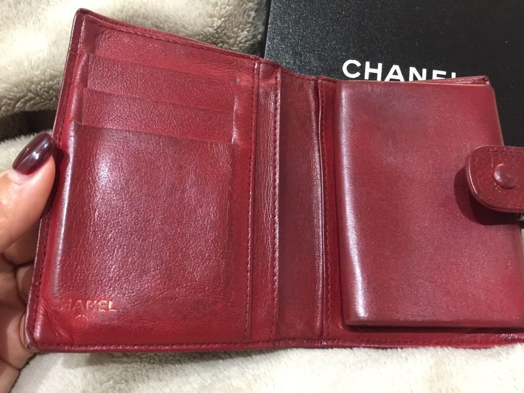 Authentic Vintage Chanel Short Wallet