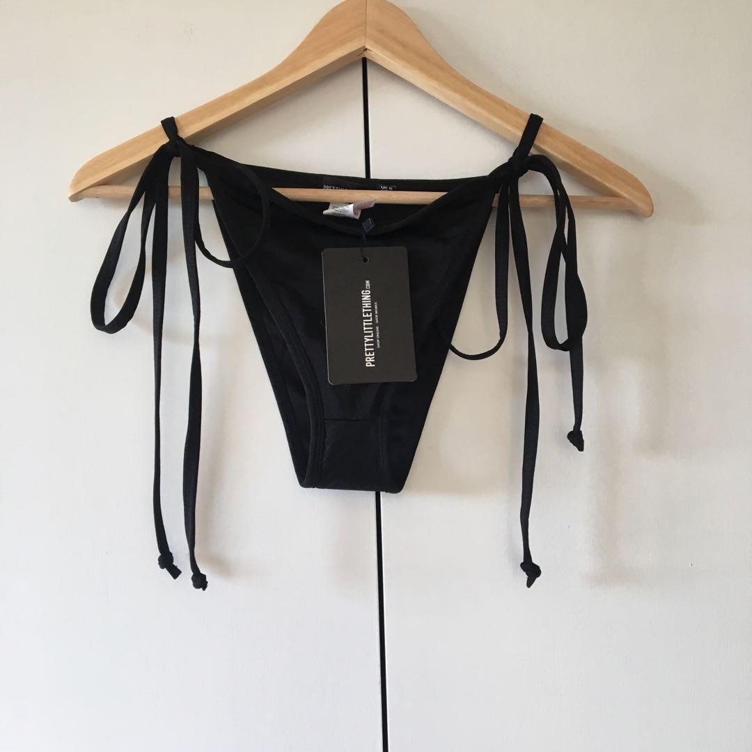 bnwt tie up bikini bottoms