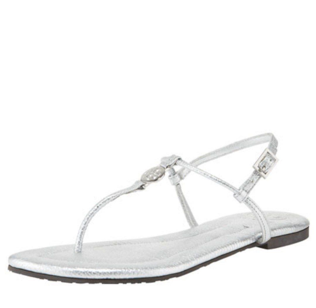 c3acdd7faf614c BRAND NEW Tory Burch Emmy Metallic Thong Sandal  No longer in stores ...