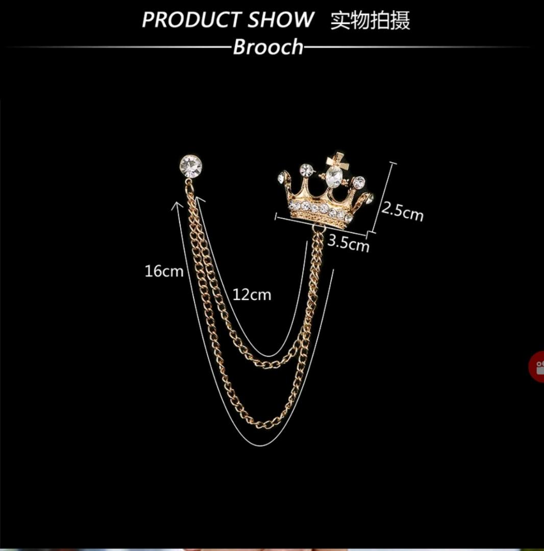 f32e95896a2 Brand Unisex Brooches For Women Jewelry Men's Suits Accessories ...