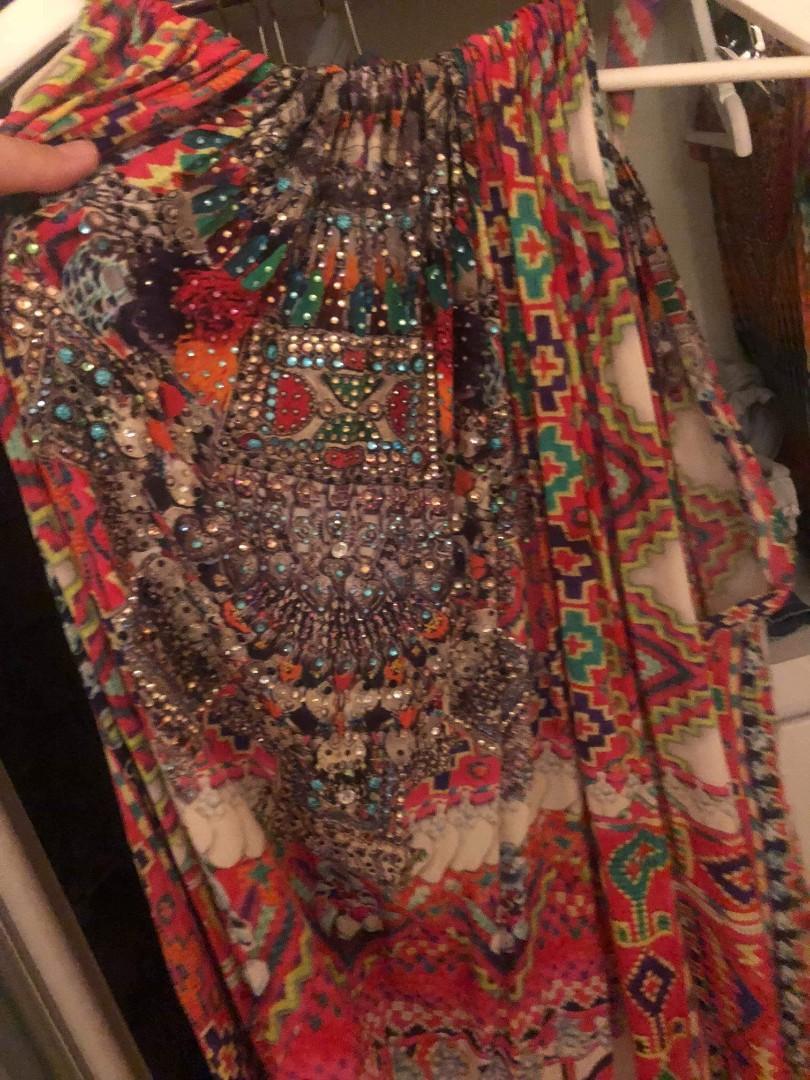 Camilla Franks silk dress