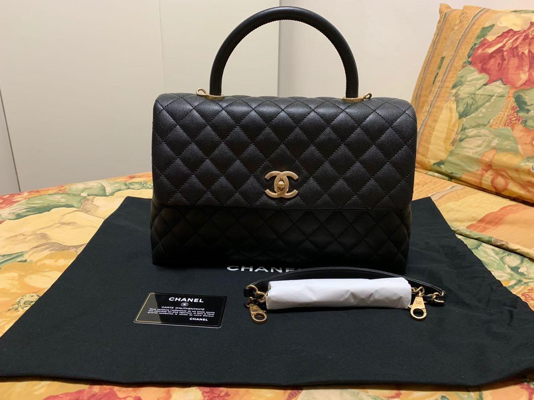 94a31e508b3e Chanel Large Coco Handle, Luxury, Bags & Wallets, Handbags on Carousell
