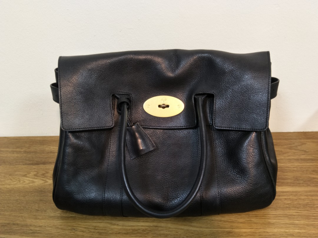 84573c341a Classic mulberry bayswater in black