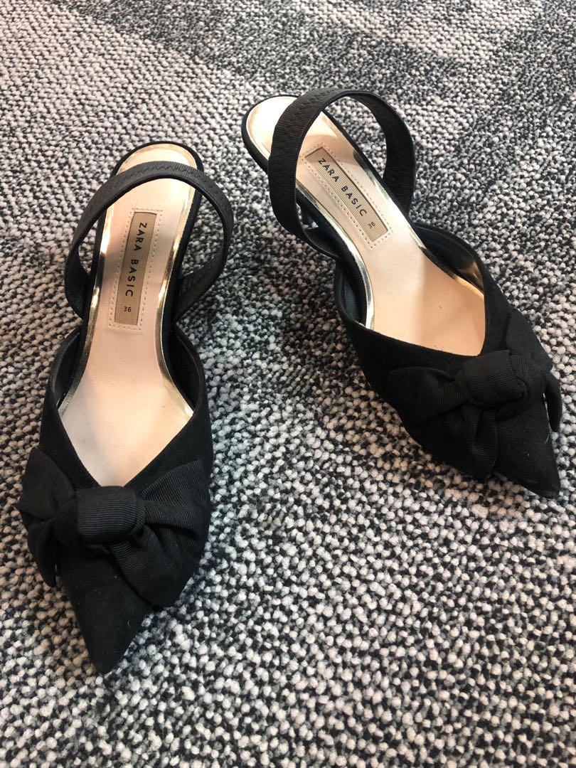 bb15d69f5e2b Classic Zara low heeled pumps