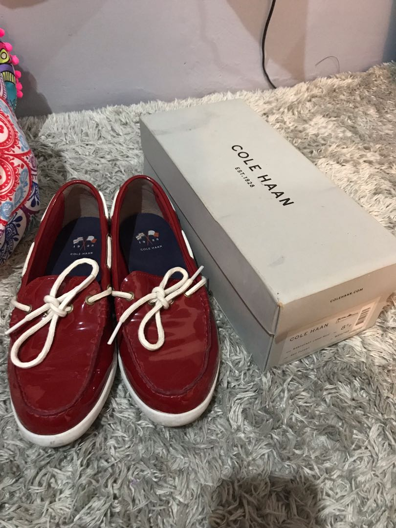 d7d130edcd Cole Haan Red Shoes, Women's Fashion, Shoes on Carousell