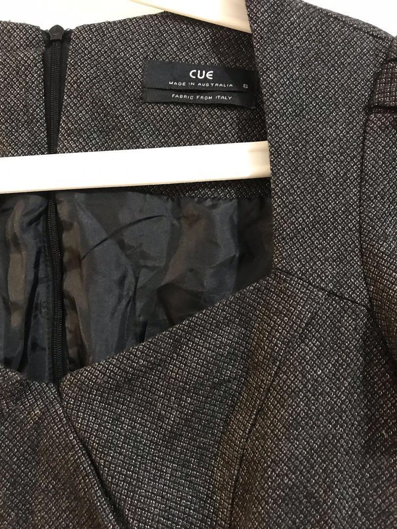 Cue Wool Dress