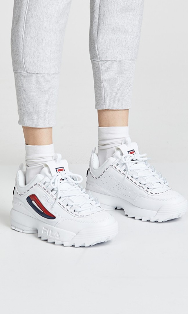 c01eda00726d1 FILA DISRUPTOR II PREMIUM REPEAT SNEAKERS, Women's Fashion, Shoes ...