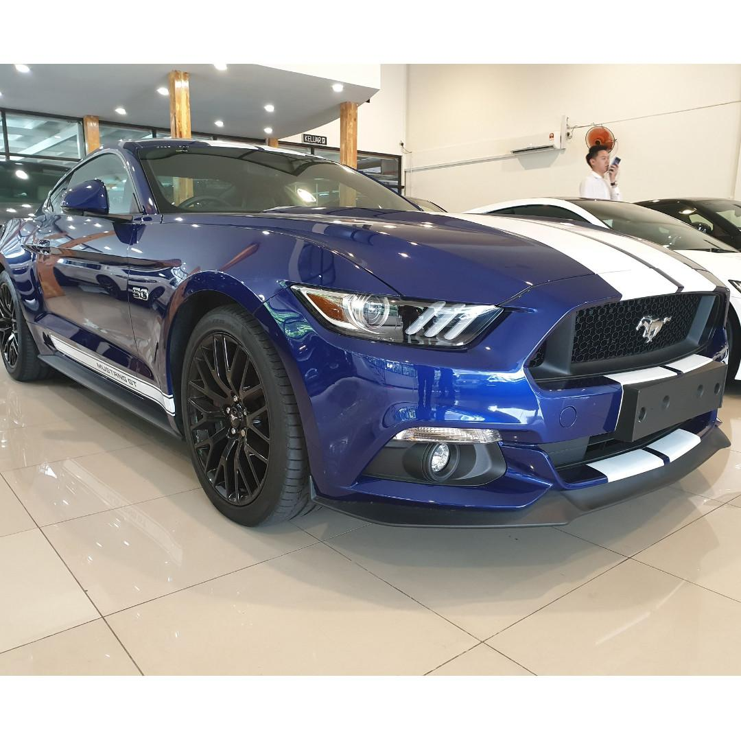 FORD MUSTANG GT 5.0 COUPE 2016, High Spec nice blue