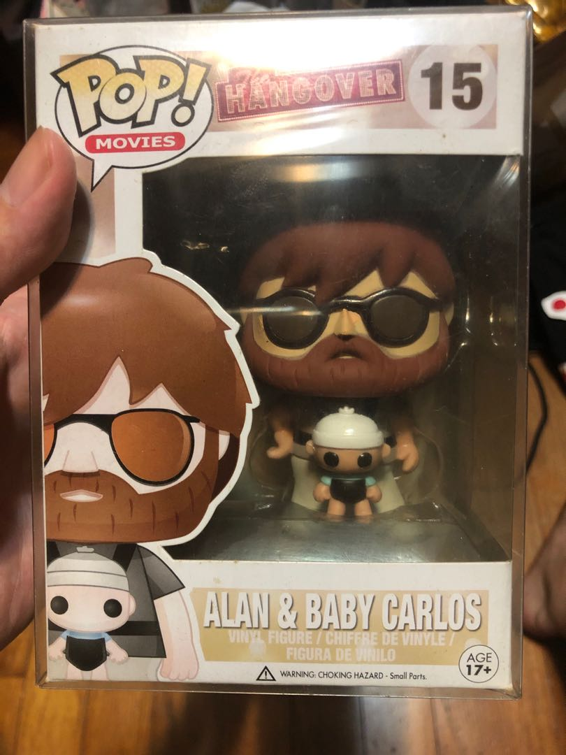 Funko Alan And Baby Carlos From The Hangover Toys Games Bricks