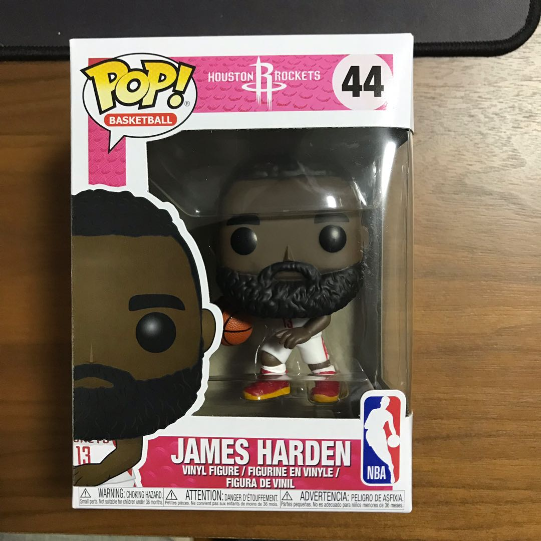 4845f6b51a51 Funko POP NBA Houston Rockets James Harden Vinyl Figure