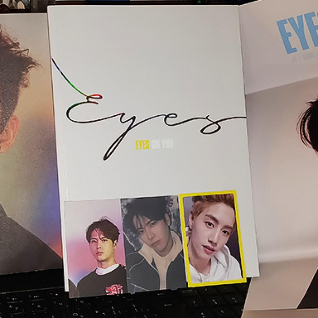 GOT7 - Eyes on You album (Eyes ver.) k-pop
