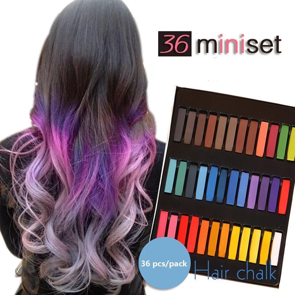 Hair Color Changing Hair Chalk (36 pcs)