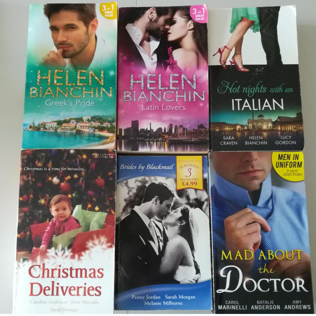 Harlequin/Mills & Boon 3 in 1 novels, Books & Stationery