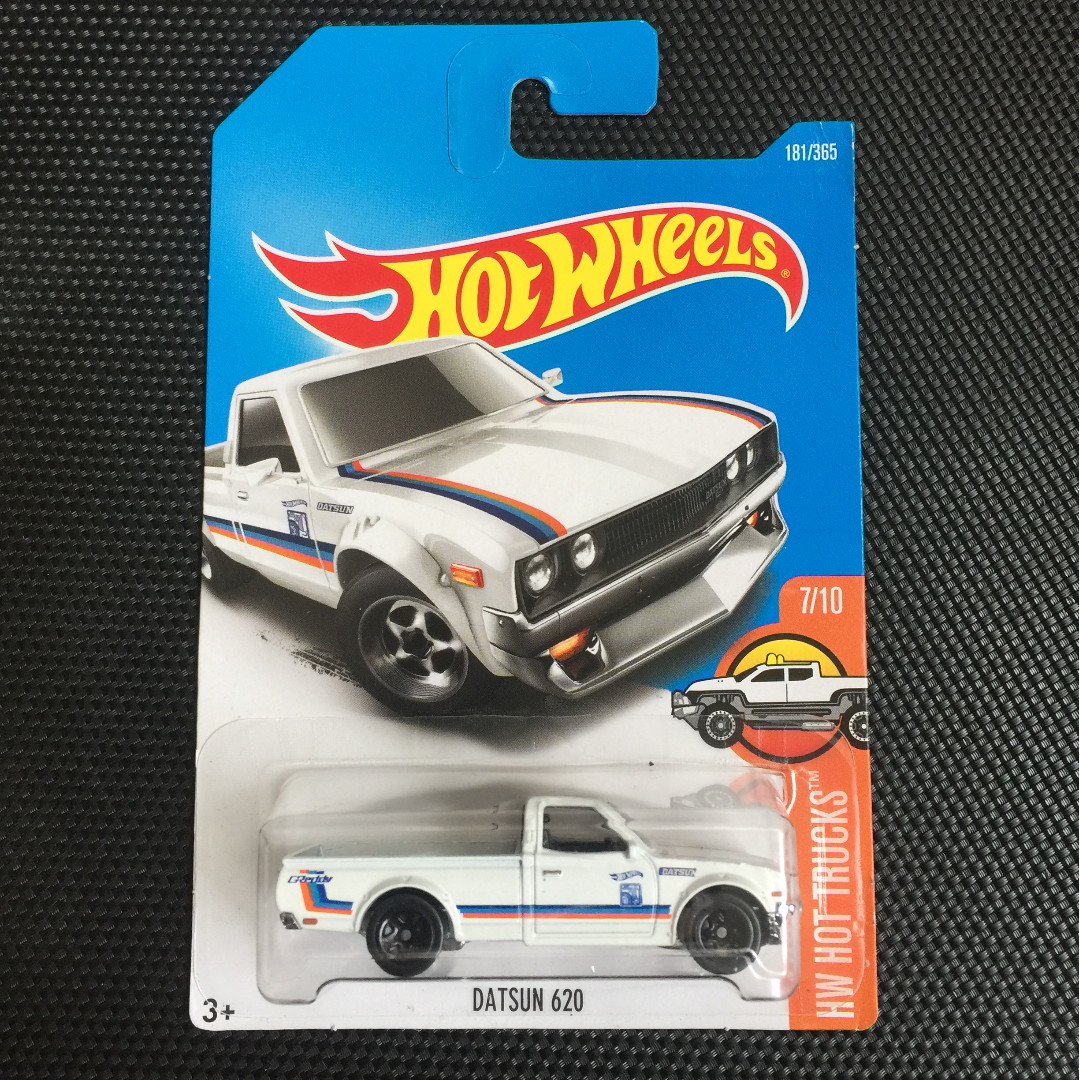 Hot Wheels Datsun 620 White Toys Games Others On Carousell