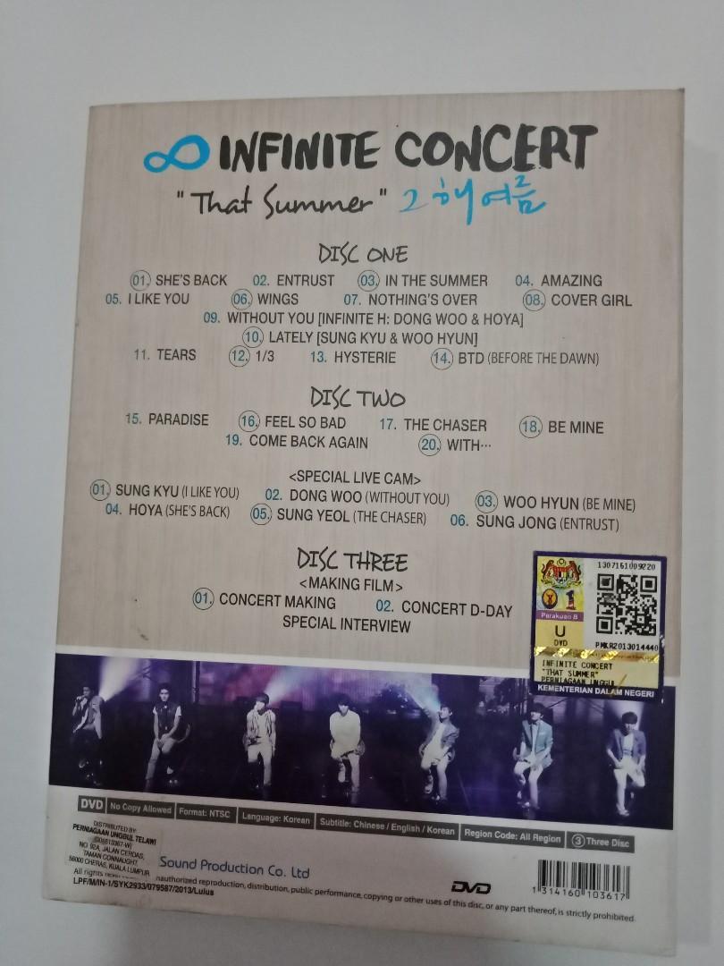 INFINITE 1st Summer Concert 2012