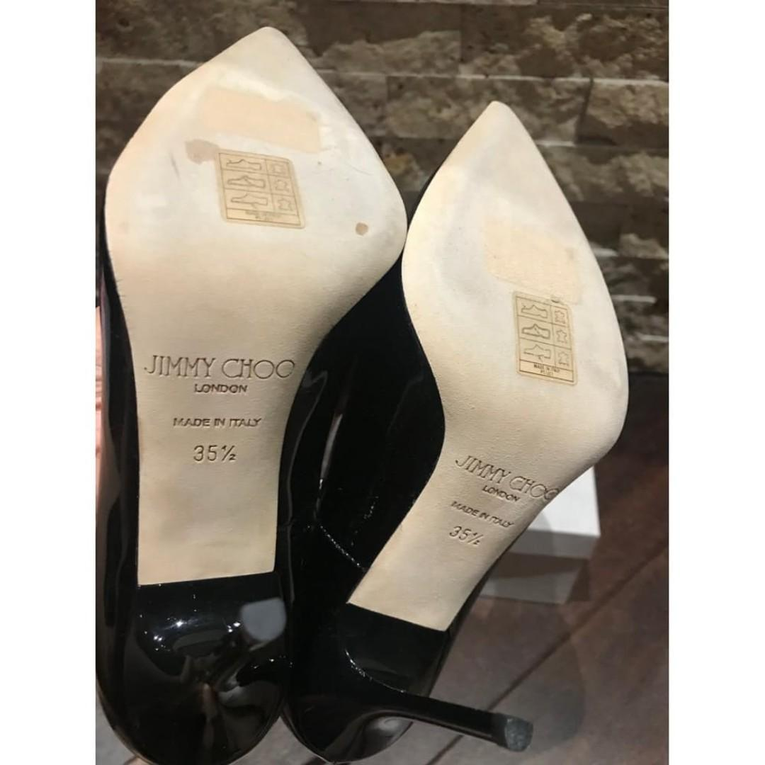 "Jimmy Choo ""Abel"" Pumps- New, Black, Size 35.5 - 100% authentic"