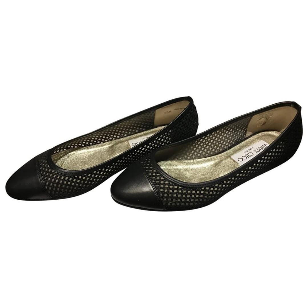 "Jimmy Choo ""Waine"" Flats- New, Black, Size 35.5 - 100% authentic"