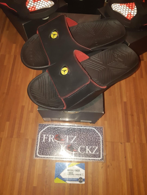 7ffae126342 Jordan hydro7 ferrari, Men's Fashion, Footwear, Slippers & Sandals on  Carousell