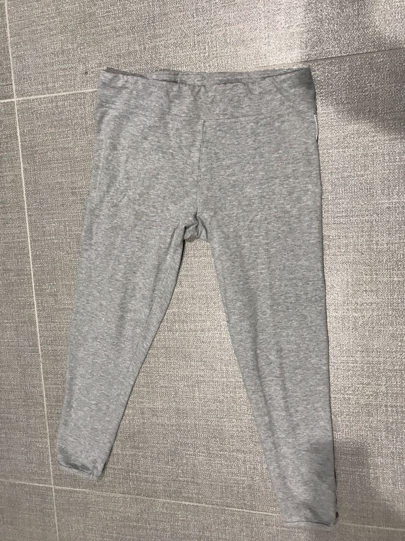 Lonsdale grey leggings Sz 12 (fits 10 as well) very stretchy worn once 7/8 length
