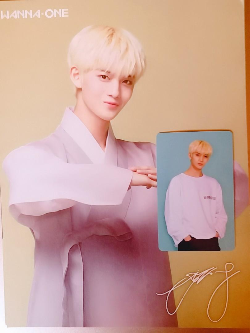 [LOOSE ITEMS] Wanna One Season Greeting - Photocard and Greeting Card