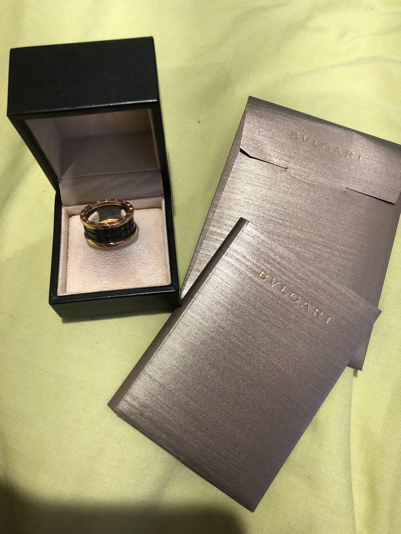 Men's Bvlgari Ring - Size 62