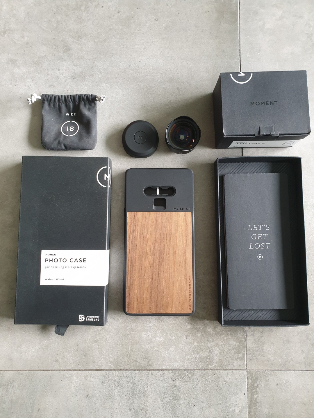 detailed pictures 7885e 2ef40 Moments Wide Lens + Phone case for Samsung Galaxy Note 9