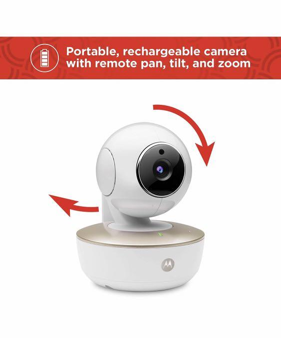 Motorola MBP88CONNECT Portable Wi-Fi Video Baby Camera