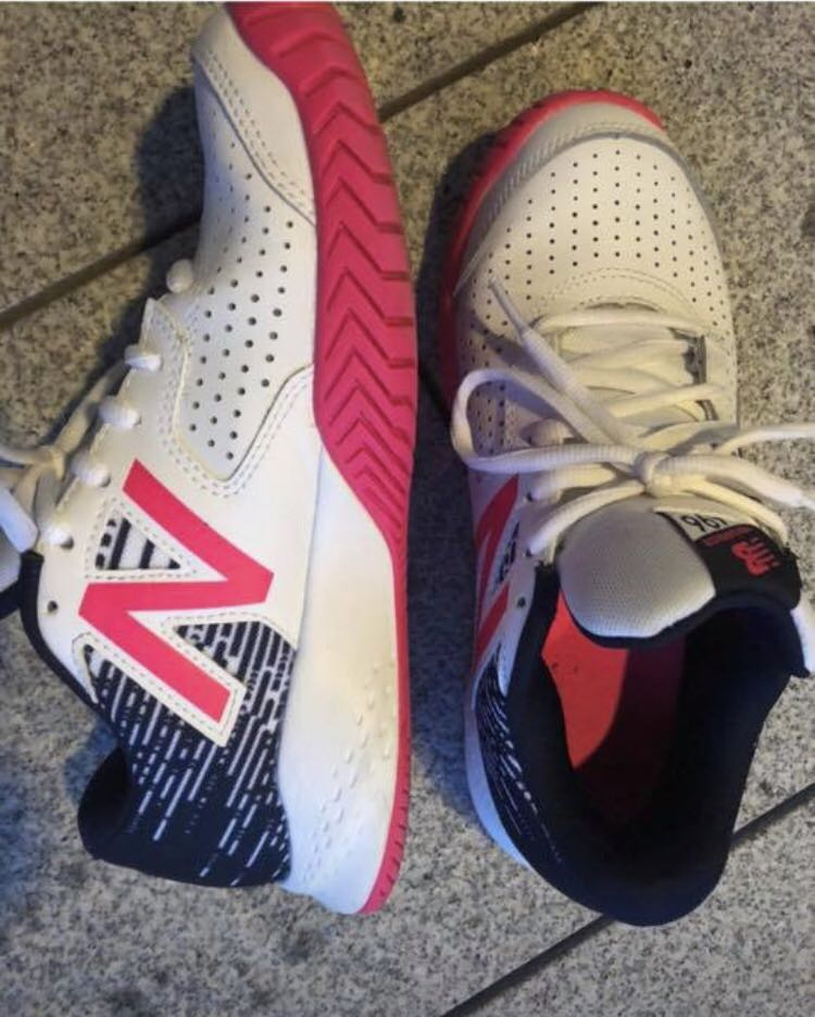 91e7c1608c2d2 New- tennis woman shoes size 38 eu/7,5 Us /5,5 Uk Worn once but were too  big $50