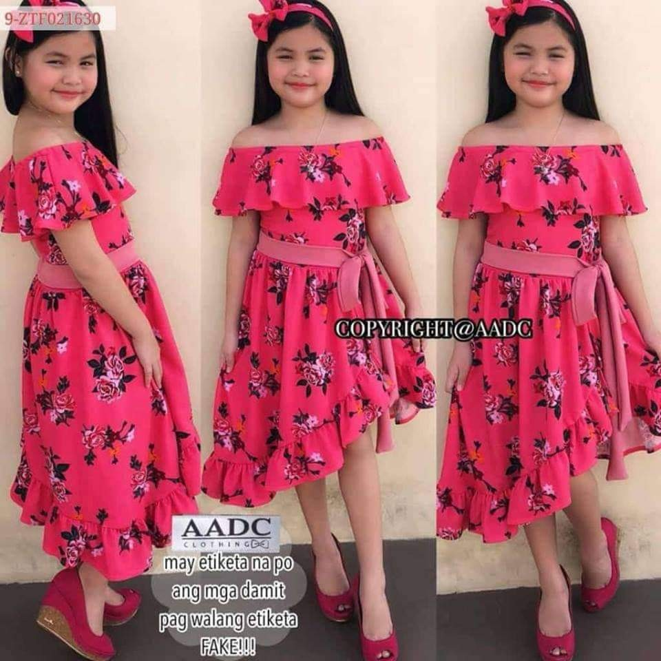 496c3da8d82c off shoulder dress for kids