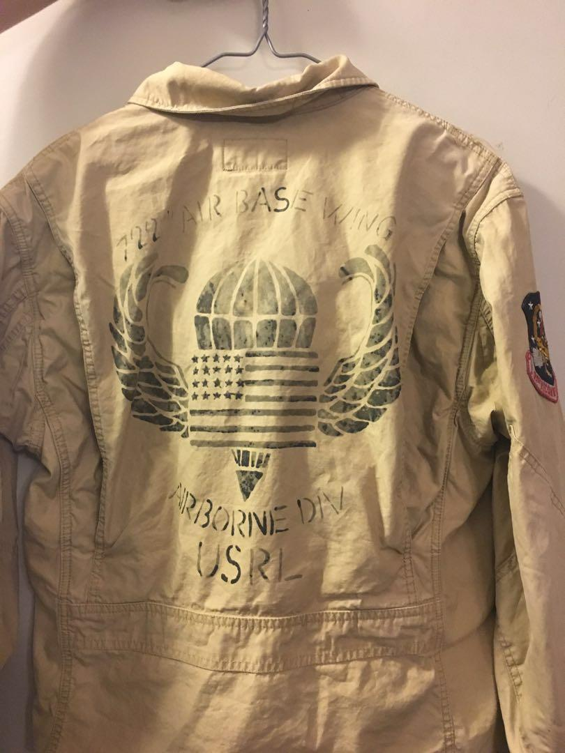Polo Ralph Lauren US AERO Army jacket