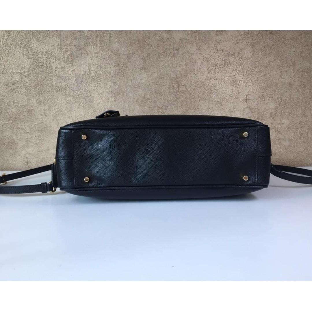 ba0b7f9f19b7 PRADA BL0095 SAFFIANO LEATHER TOTE BAG, Luxury, Bags & Wallets on ...