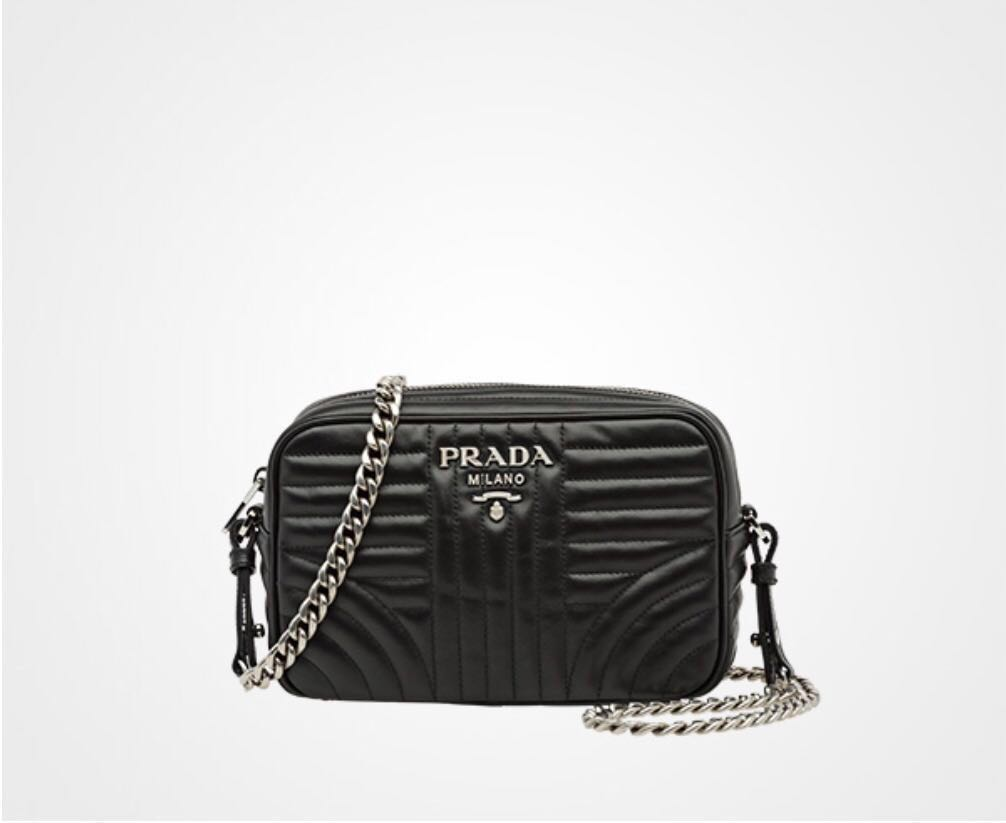 a22e9ffa3271 Prada Diagramme Leather Cross-Body Bag, Luxury, Bags & Wallets ...