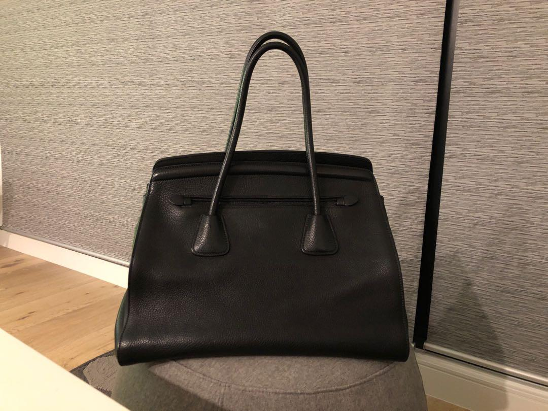 Prada Top Handle Full Leather Bag BN2571