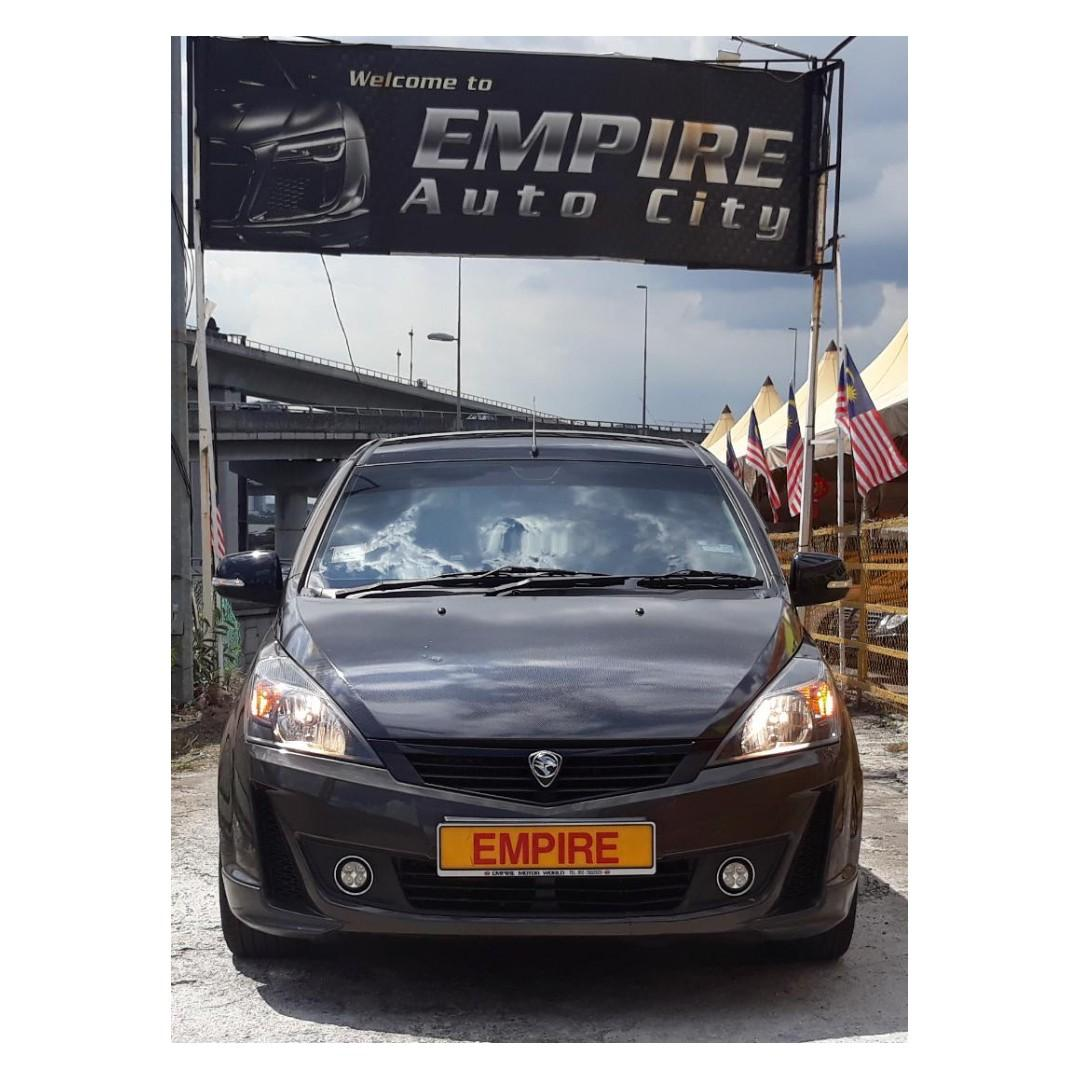 PROTON EXORA BOLD PREMIUM 1.6 ( A ) CVT TURBO !! FULL SERVICE RECORD BY PROTON !! FULL HIGH SPECS THAT COMES WITH ROOF MONITOR FULL LEATHER SEATS !! 7 SEATERS MPV !! ( VXX 846 ) 1 CAREFUL OWNER !!